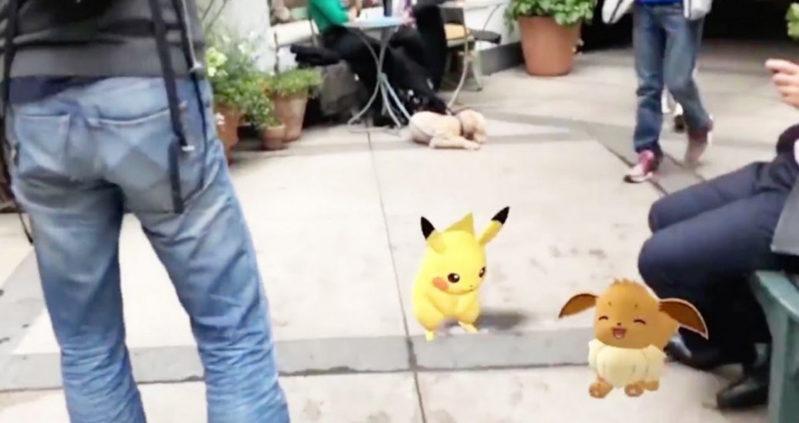 Pokémon GO zeigt eine Realität, in der Pokémon noch echter werden