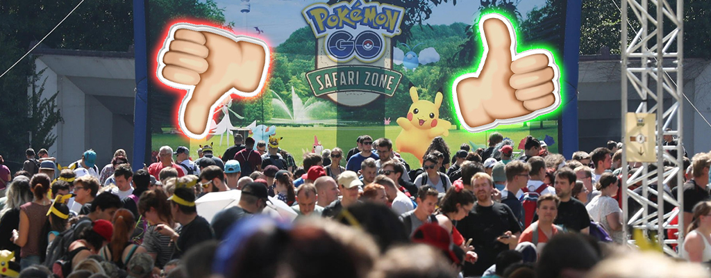 Pokémon GO: Safari-Zone trotz Fails auch mit positivem Feedback