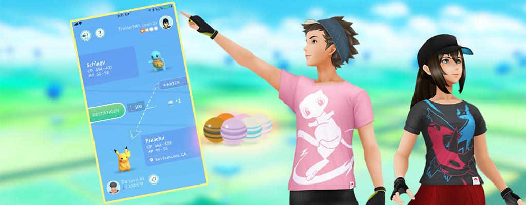 So holt Ihr die maximalen Bonbons beim Tauschen in Pokémon GO