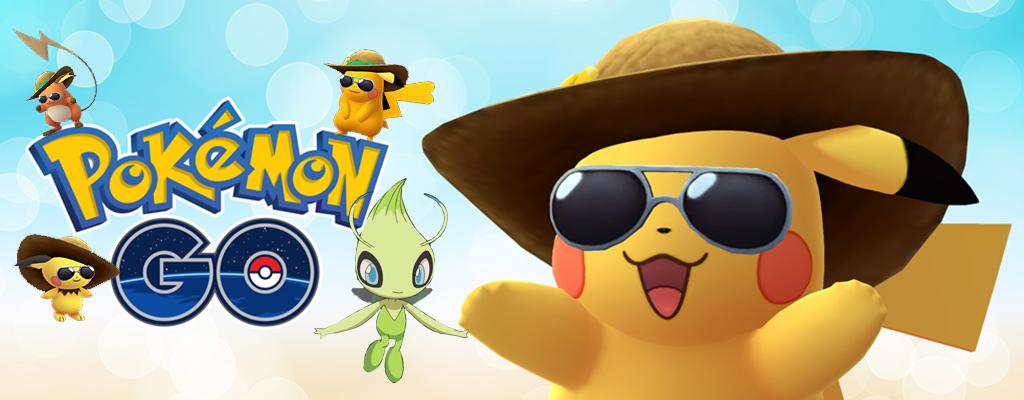 Pokémon GO bringt zum Geburtstag Celebi und Strohhut Pikachu