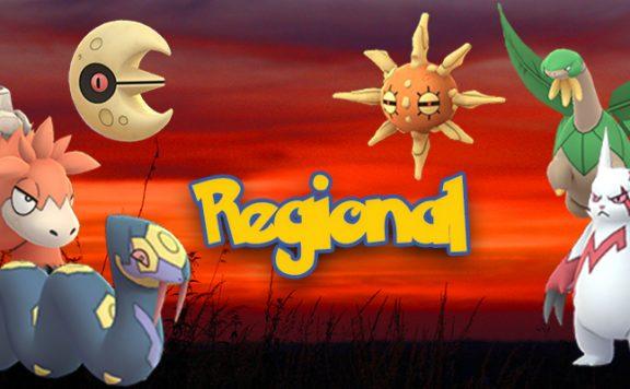 Pokémon GO Regional Titel