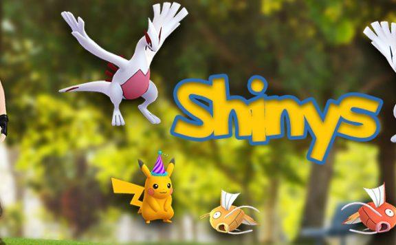 Pokémon GO Shiny Titel