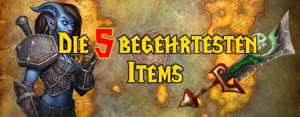 """Die 5 begehrtesten Gegenstände aus dem """"alten"""" World of Warcraft"""