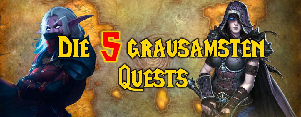 Düstere Taten: Die 5 grausamsten Quests in World of Warcraft