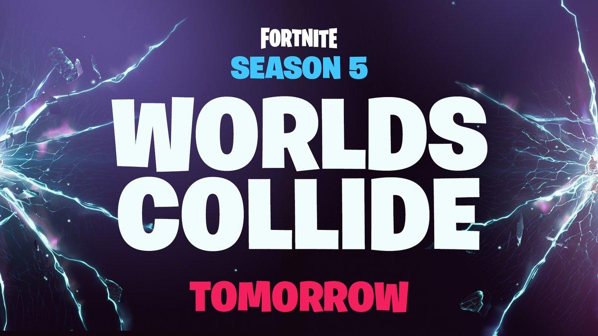 Letzter Teaser für Season 5 – Kollidiert unsere Welt morgen mit Fortnite?