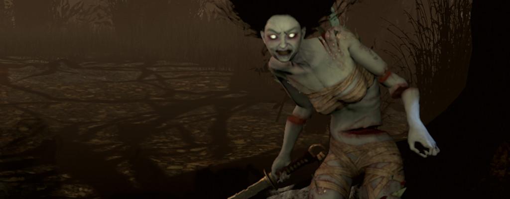 """Dead by Daylight: Der neue Killer """"The Spirit"""" ist eine zerstückelte Frau"""