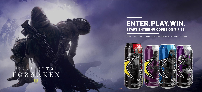 Energy-Drink-Promo für Destiny 2: Forsaken startet und keiner kriegt es mit