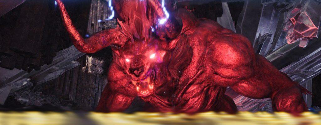 Ende August kommt ein extrem starker Behemoth zu Monster Hunter World