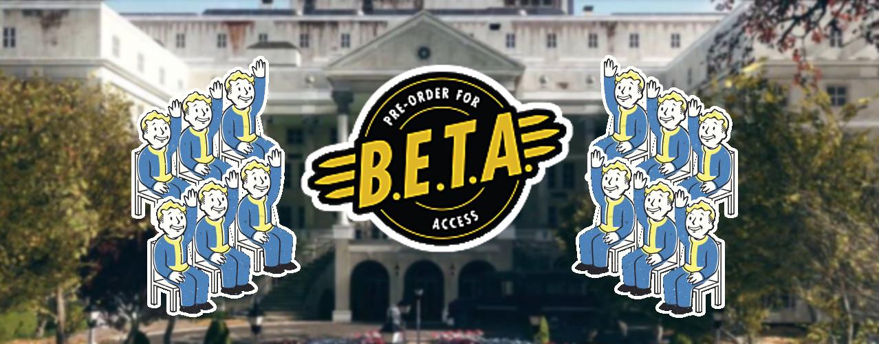 Fallout 76: Beta ist schon das volle Spiel und Ihr behaltet den Fortschritt