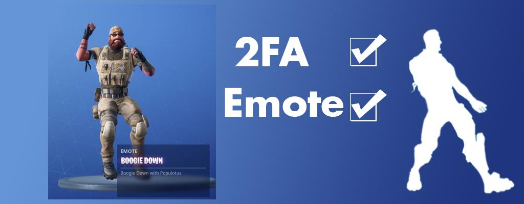 Fortnite: So aktiviert Ihr Zwei-Faktor-Authentifizierung (2FA) für Gratis-Emote