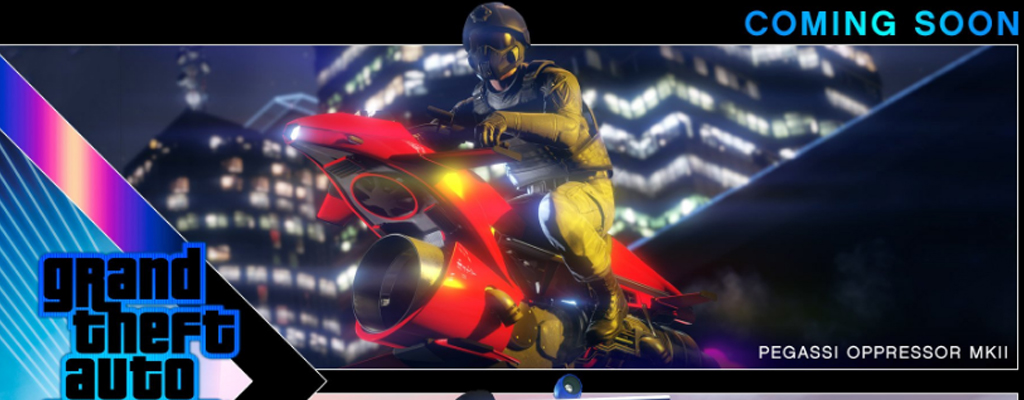 GTA 5 Online kriegt ein Flug-Motorrad, das Spieler jetzt schon nervt