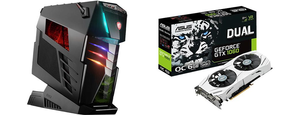 MediaMarkt- und Saturn-Angebote: MSI Aegis Ti3, Geforce GTX 1060, FIFA 18