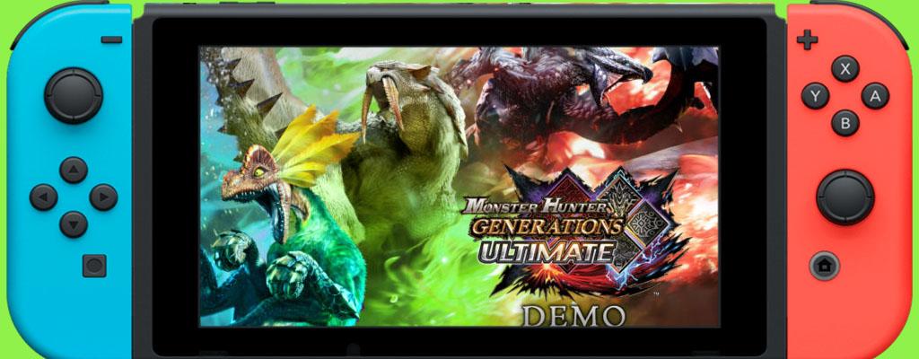 Spielt Monster Hunter Generations Ultimate nun als Demo auf der Switch