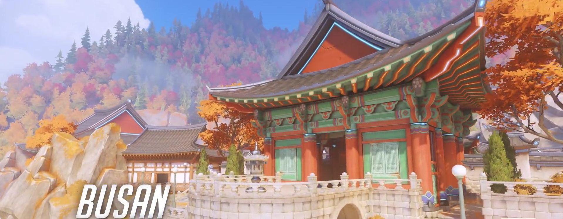 Neue Map Busan ist auf dem Overwatch PTR spielbar! Schaut hier den Trailer