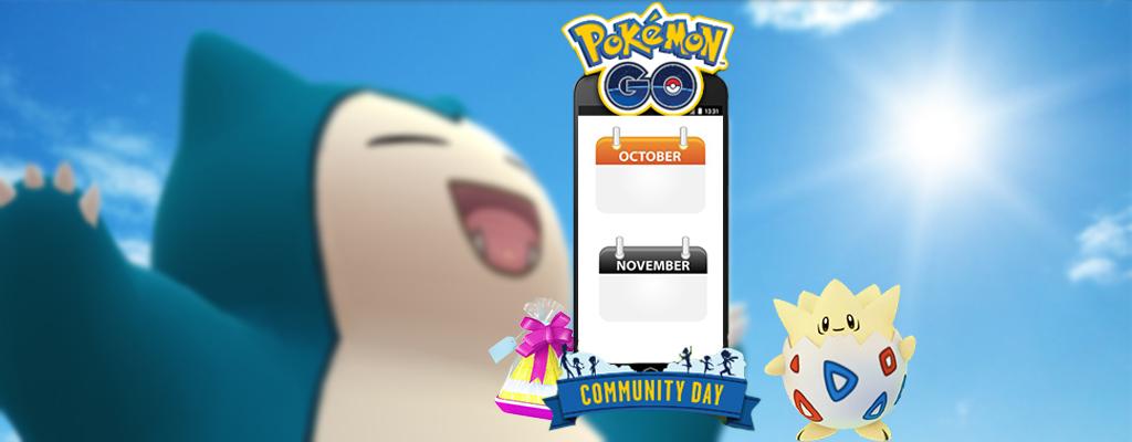 Pokémon GO: Termine für die nächsten Community Days stehen fest