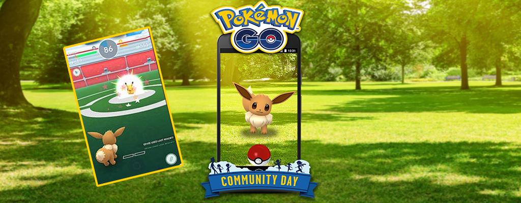 Pokémon GO: Am Community Day lernt Evoli Zuflucht, Shinys bestätigt