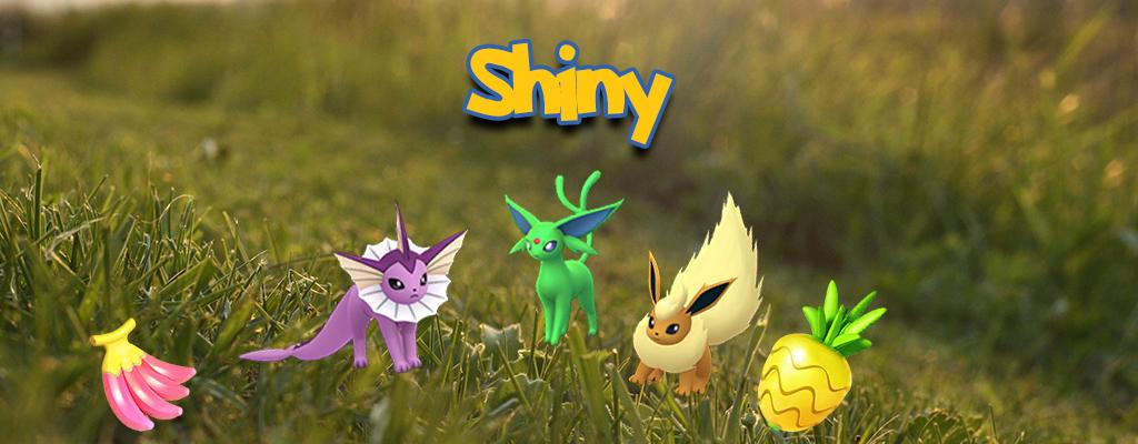 Pokémon GO: Diese Shiny-Formen der Evoli-Familie sind im Code