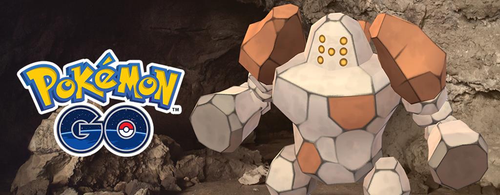 Das legendäre Pokémon Regirock erwartet Euch jetzt in Pokémon GO