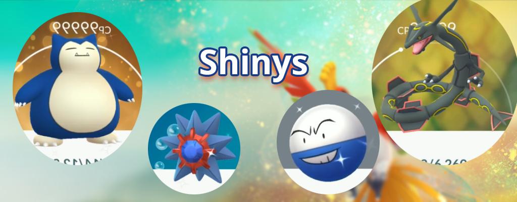 Pokémon GO: Riesiger Leak zeigt über 100 Shinys für Gen 1 und 2