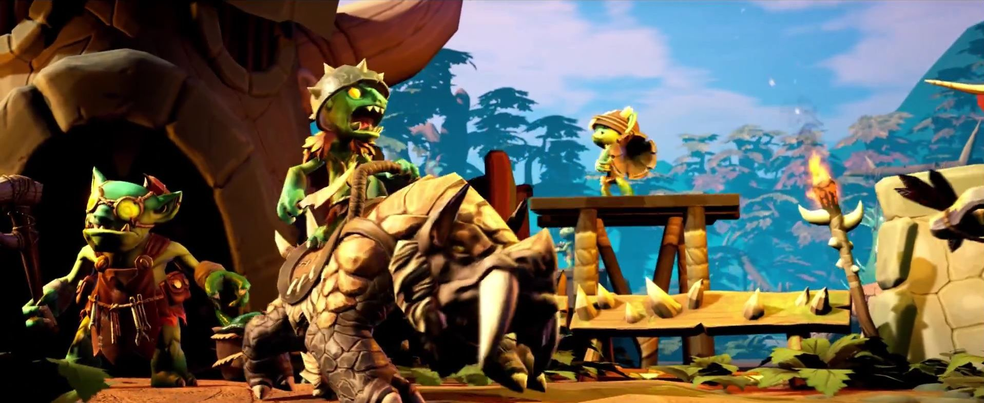 Torchlight Trailer Screenshot Goblins