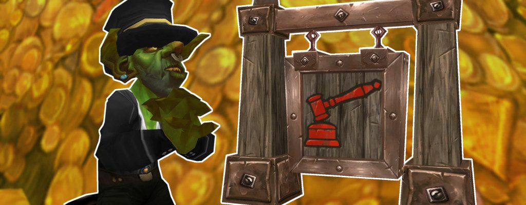 WoW Goblin Auction House Symbol title