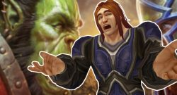 WoW Human asking orc battle for azeroth