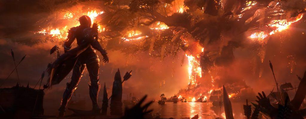 WoW: Ich wünschte, ich hätte nicht um den Brand von Teldrassil gewusst