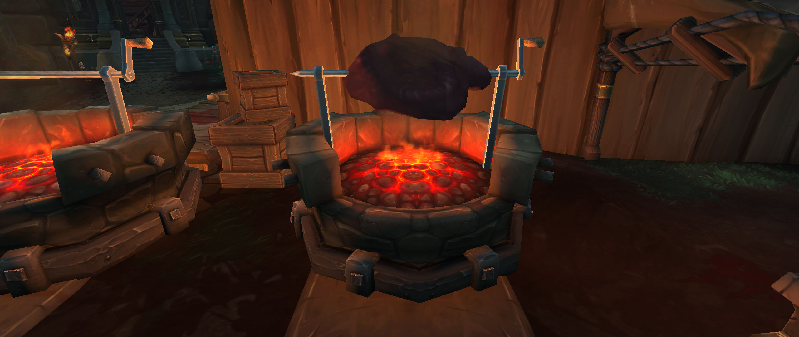 WoW Screenshot Berufe in Boralus Kochen 3