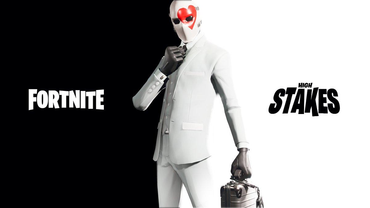 """Fortnite startet bald """"High Stakes"""" – 1. neuer Skin sieht fantastisch aus"""