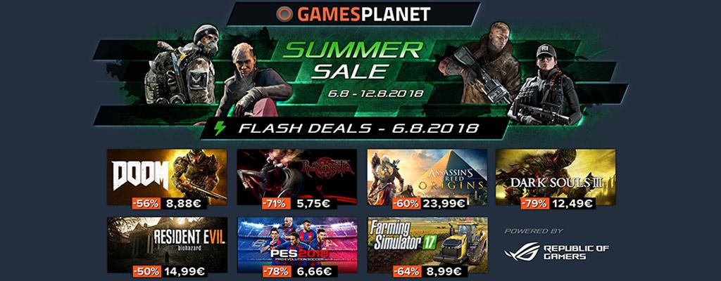 Gamesplanet Summer Sale 2018  – Assassin's Creed: Origins und Dark Souls 3