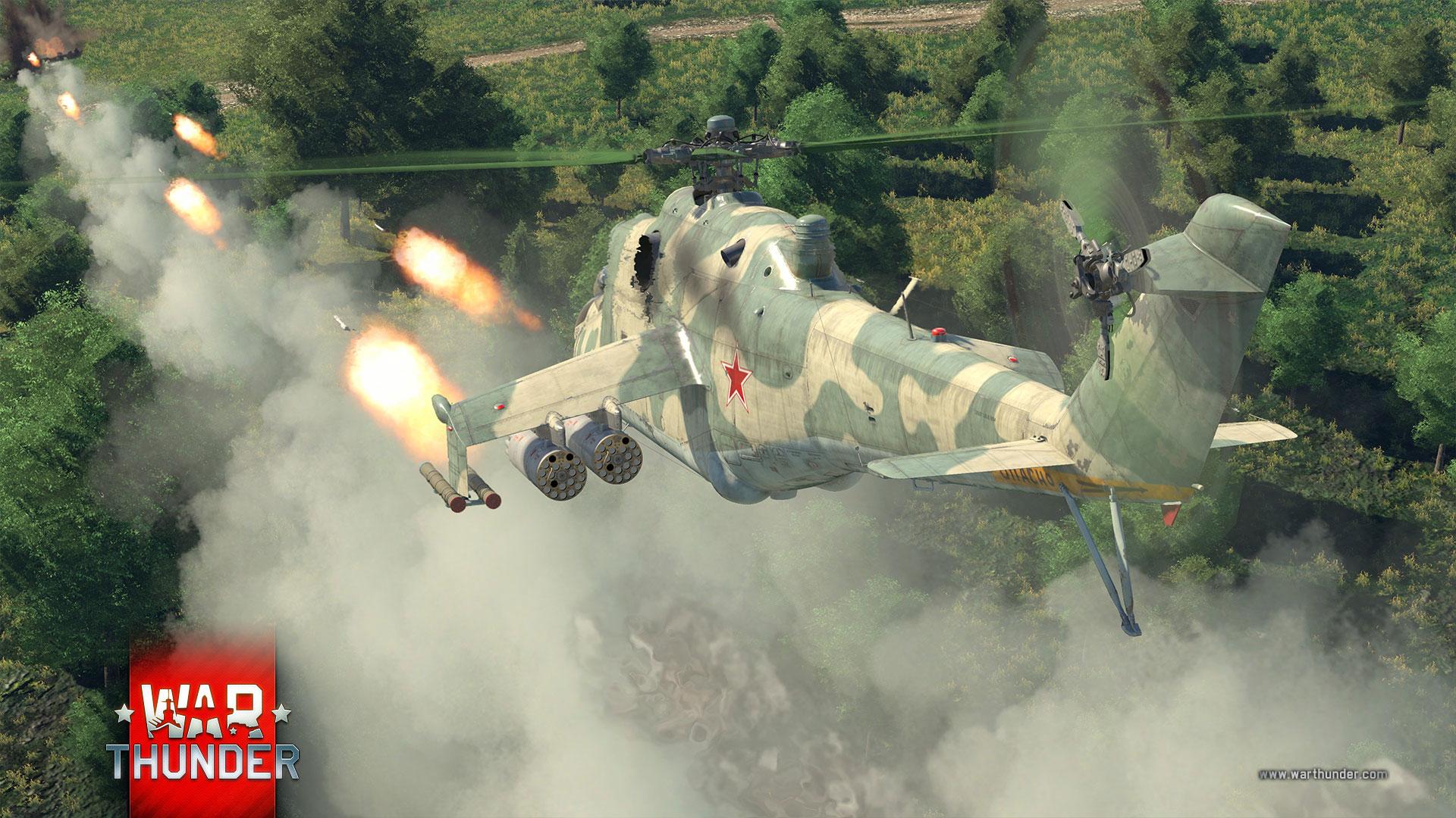 War Thunder: Kampfhubschrauber werden bald Panzer terrorisieren