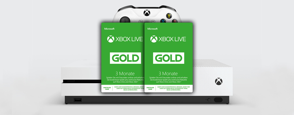 Gamescom-Deals bei Amazon – 6 Monate Xbox Live für 19,99€