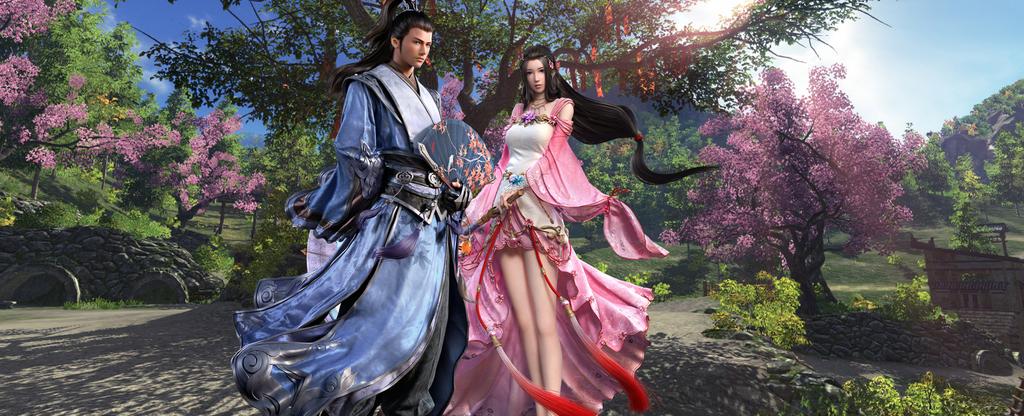 Fürs neue MMORPG Moonlight Blade gibt's Hinweise auf EU-Release