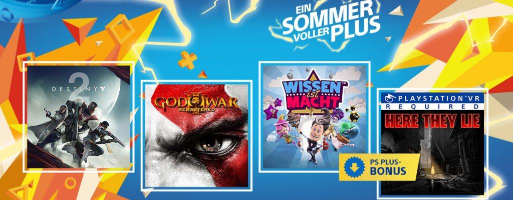 PS Plus September 2018 – Die kostenlosen Spiele sind jetzt live