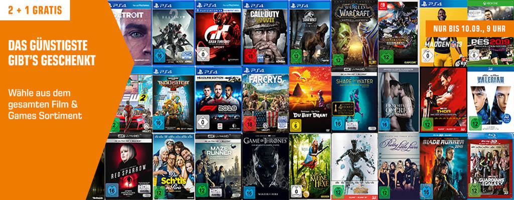 3 kaufen, 2 zahlen bei Saturn – Spiele für PS4, Xbox One und Nintendo Switch