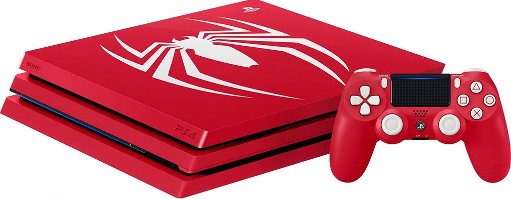 Spider-Man PS4 Pro und PS4 Slim nun bei Amazon vorbestellen