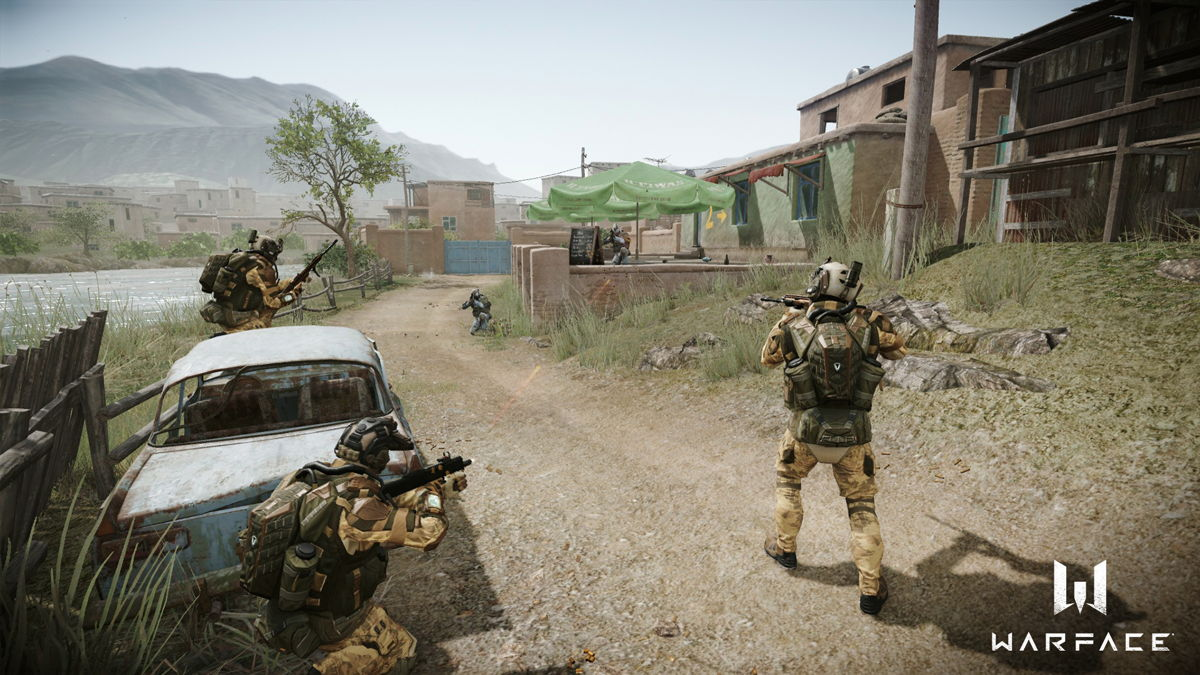 Ihr könnt jetzt den MMO-Shooter Warface auf der PS4 spielen