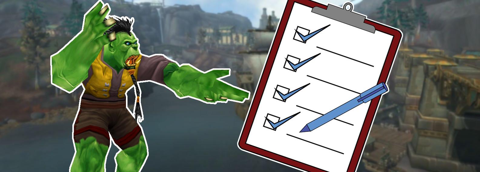 WoW: Bereitet Euch mit dieser Checkliste ideal auf den BfA-Launch vor