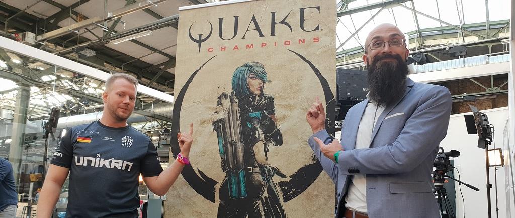 Schaltet ein zum Finale des Quake-Turniers auf der EGX 2018