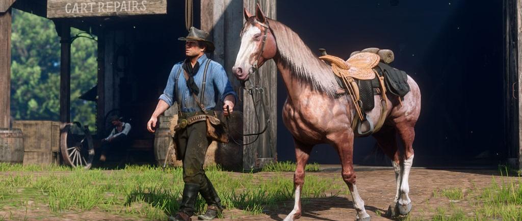 Red Dead Redemption 2: Alles über Pferde und Striegeln