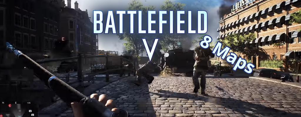 Battlefield 5 bringt zum Release diese 8 Maps – Schaut sie Euch hier an