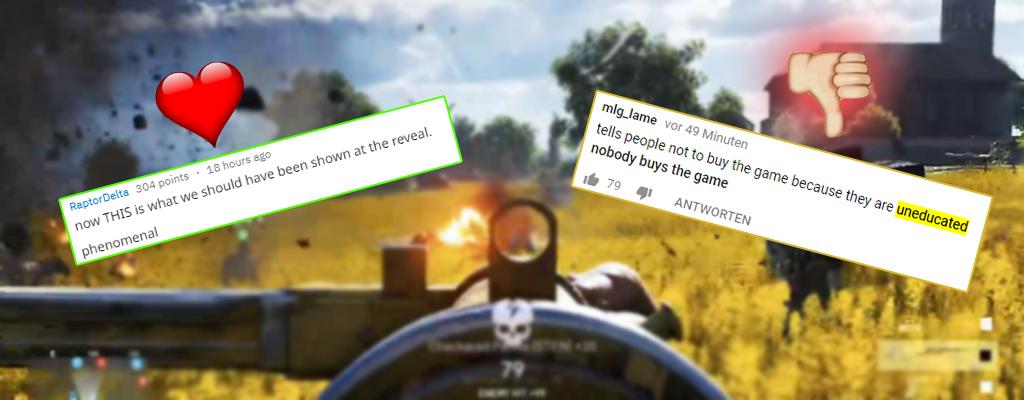 Battlefield 5: Fans reagieren auf neuen Trailer mit Memes und Liebe