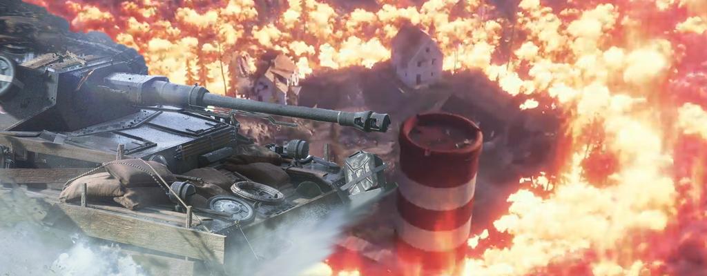 Im BR-Modus von Battlefield 5 donnert Ihr mit Panzern über die Map
