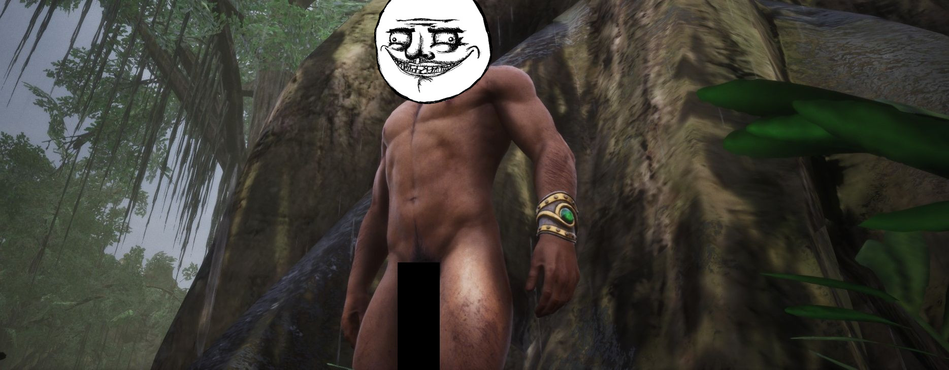 Conan Exiles hat tatsächlich einen Trank, der den Penis länger macht