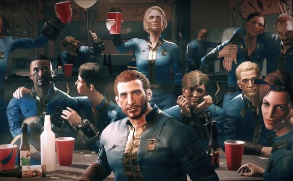 Fallout 76 CHeering People titel
