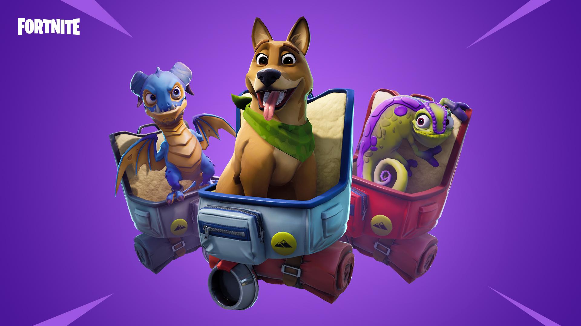 Alles, was ihr über die neuen Pets in Fortnite wissen müsst