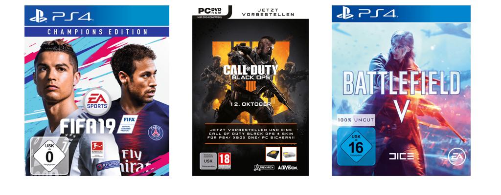 Black Ops 4 und FIFA 19 vorbestellen: Spart 15 Euro mit Masterpass und MediaMarkt