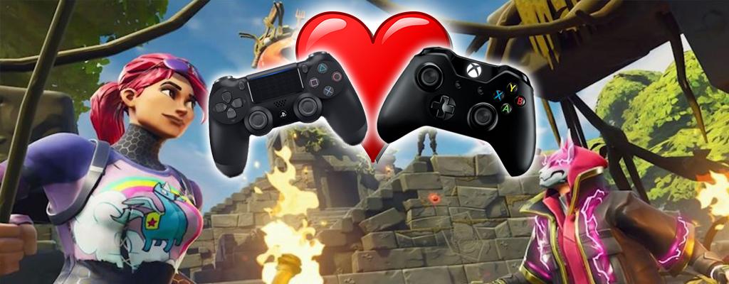 Crossplay zwischen PS4 und Xbox One kommt heute zu Fortnite