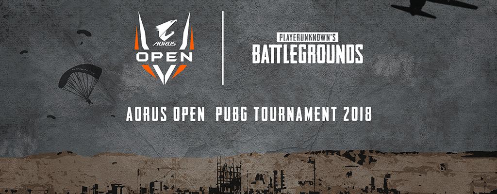 AORUS OPEN PUBG Tournament: Verfolgt die Offline Qualifier im Live-Stream