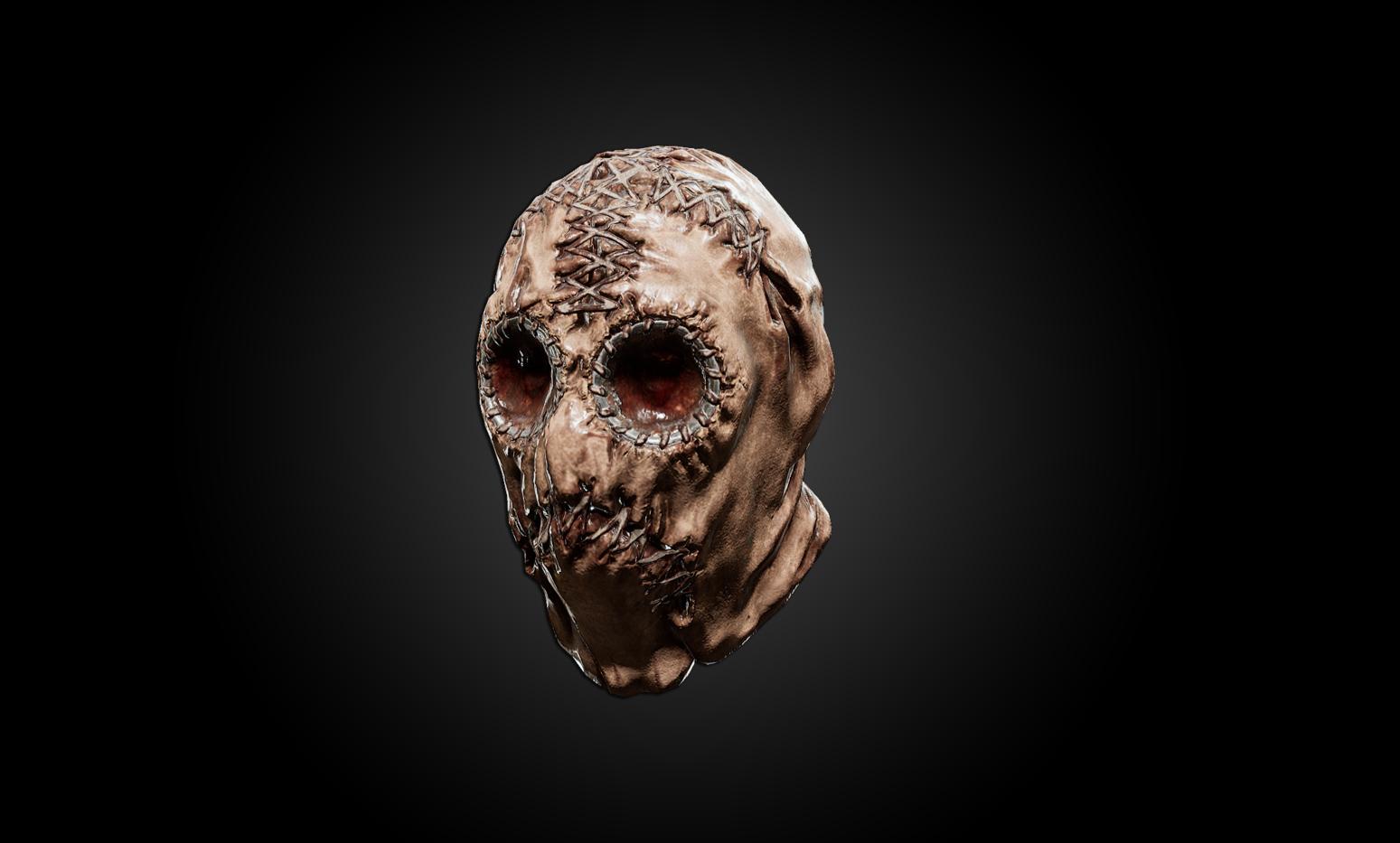 In Scum könnt Ihr nun eine Maske aus Menschenhaut tragen